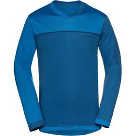 VAUDE Moab III maglietta a maniche lunghe Uomo blu